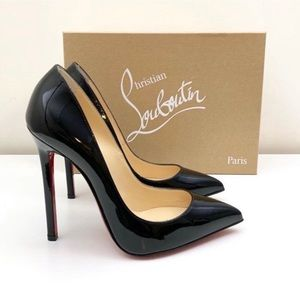 Christian Louboutin Black Patent Leather 120